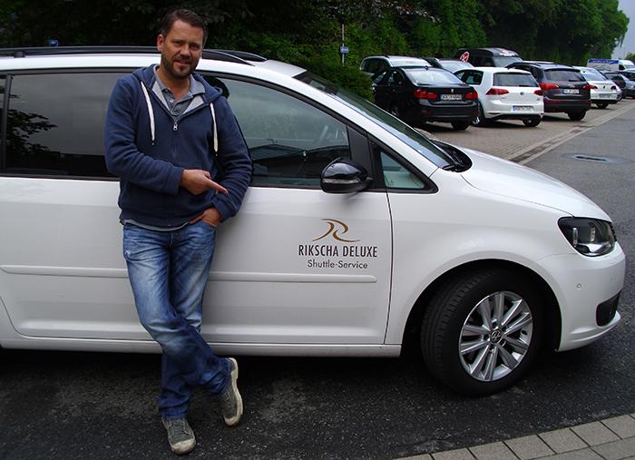 RTL2 Kochprofis | VIP-Shuttle mit Rikscha Deluxe
